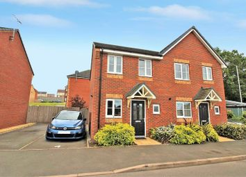 Thumbnail 2 bed semi-detached house for sale in Bowling Alley Street, Talke, Stoke-On-Trent