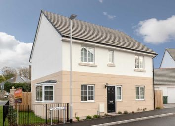 Thumbnail 4 bed detached house for sale in Sackville Close, Plymstock