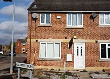 Thumbnail 3 bed end terrace house to rent in Haldane Court, Hull
