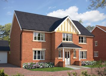 "Thumbnail 5 bed detached house for sale in ""The Truro"" at Beverley Grove, Bedford"