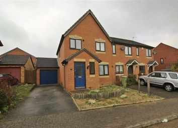 Thumbnail 3 bed semi-detached house to rent in Cruickshank Grove, Crownhill, Milton Keynes