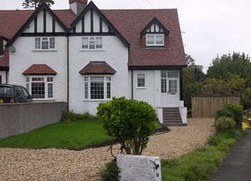 Thumbnail 4 bed semi-detached house to rent in Llanfair Gardens, Mumbles, Swansea