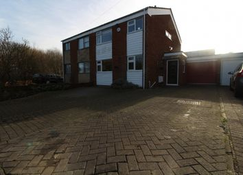 Thumbnail 3 bed semi-detached house for sale in Chicheley Street, Newport Pagnell, Buckinghamshire