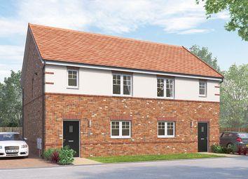 "Thumbnail 3 bed semi-detached house for sale in ""The Newbridge"" at Harrowgate Lane, Stockton"