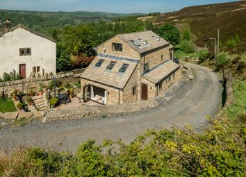 Thumbnail 6 bed detached house for sale in Scout, Marsden, Huddersfield