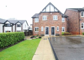 Thumbnail 3 bed semi-detached house for sale in Manor Road, Woodley, Stockport