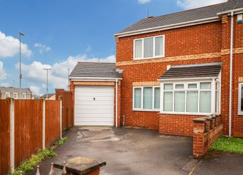 Thumbnail 2 bed end terrace house for sale in Weeland Court, Knottingley
