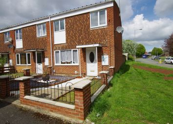 Thumbnail 3 bed end terrace house for sale in Upfield, Swindon