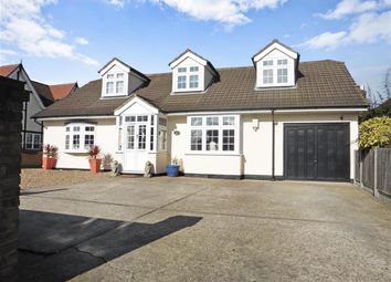 Thumbnail 5 bedroom detached bungalow for sale in Upminster Road North, Rainham, Essex