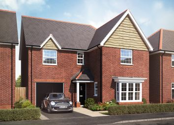 "Thumbnail 4 bed detached house for sale in ""The Albury"" at Lady Lane, Blunsdon, Swindon"