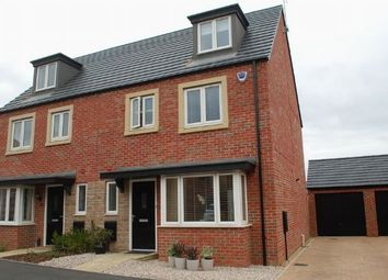 Thumbnail 4 bedroom semi-detached house for sale in Rowthorne Close, Duston, Northampton