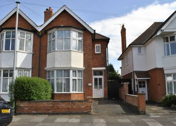 Thumbnail 4 bedroom semi-detached house for sale in Holmfield Road, Leicester