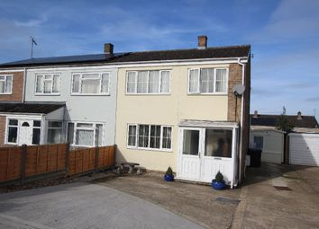 Thumbnail 4 bed semi-detached house for sale in Cardinal Way, Haverhill