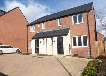 Thumbnail 3 bedroom semi-detached house for sale in Walmer Close, Duston, Northampton