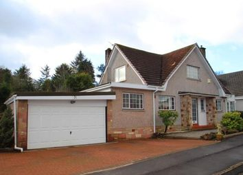 Thumbnail 4 bed detached house for sale in Dalmahoy Crescent, Bridge Of Weir, Renfrewshire