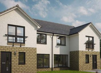 "Thumbnail 3 bed detached house for sale in ""Calico Semi Detached Chaterlherault"" at Leven Road, Ferniegair, Hamilton"