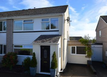 Thumbnail 3 bed semi-detached house for sale in Dennis Road, Liskeard, Cornwall