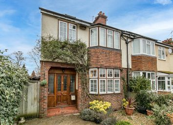 Thumbnail 4 bed semi-detached house for sale in Parkhurst Road, Horley, Surrey