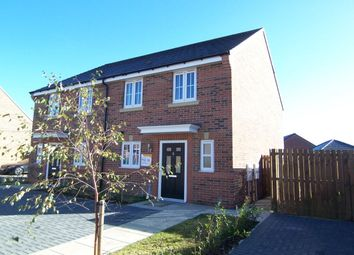 Thumbnail 2 bed semi-detached house for sale in Gressingham Close, Barley Meadows, Cramlington