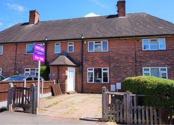 Thumbnail 3 bed terraced house for sale in Highwood Avenue, Nottingham