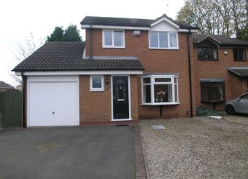 Thumbnail 3 bed detached house for sale in Linnet Close, Halesowen