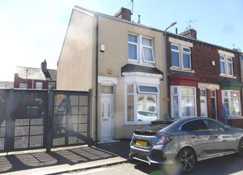 Thumbnail 2 bed end terrace house for sale in Edward Street, North Ormesby, Middlesbrough