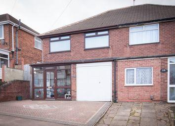 Thumbnail 3 bed semi-detached house for sale in Glenville Drive, Erdington, Birmingham