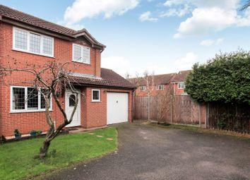 Thumbnail 3 bed semi-detached house for sale in Temple Grange, Werrington, Peterborough