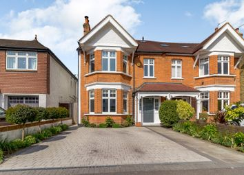 Thumbnail 5 bedroom semi-detached house for sale in Woodside Avenue, Esher