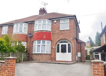 Thumbnail 3 bed semi-detached house for sale in South Bank Avenue, Bishopthorpe Road, York
