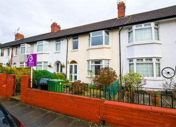 Thumbnail 3 bed terraced house to rent in Wembley Road, Cardiff, South Glamorgan