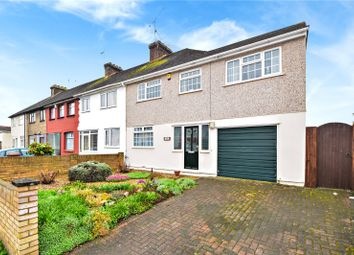 Thumbnail 4 bed end terrace house for sale in Milton Road, Swanscombe, Kent