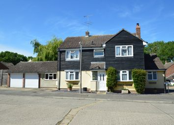 Thumbnail 4 bed detached house for sale in Abbotts Court, Sturmer, Haverhill