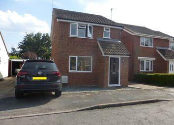 Thumbnail 3 bedroom detached house for sale in Walden Close, Doddington, March