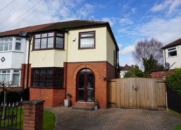 Thumbnail 3 bed semi-detached house for sale in West Vale Road, Altrincham