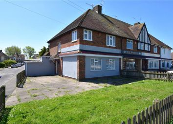 Thumbnail 3 bed end terrace house for sale in Crabtree Lane, Lancing, West Sussex