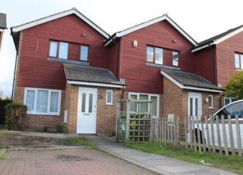 Thumbnail 3 bed end terrace house for sale in Meadowford Close, Thamesmead, London
