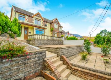 Thumbnail 3 bed semi-detached house for sale in Gilfach Road, Tonyrefail, Porth