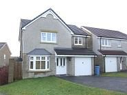 Thumbnail 4 bed detached house to rent in Green Way, Oldmeldrum, Inverurie