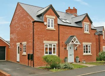 Thumbnail 4 bed detached house for sale in Cowslip Close, Wootton, Northampton