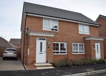 Thumbnail 2 bed semi-detached house for sale in Cordwainers, Morpeth