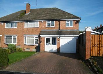 Thumbnail 5 bedroom semi-detached house for sale in Rosemary Road, Halesowen, West Midlands