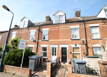 Thumbnail 3 bed terraced house for sale in Gainsborough Road, Felixstowe