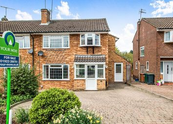 Thumbnail 4 bed semi-detached house for sale in Manor House Gardens, Abbots Langley