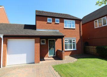 Thumbnail 3 bed link-detached house for sale in Telford Way, Blakelands, Milton Keynes, Buckinghamshire