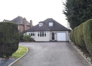 Thumbnail 4 bed detached bungalow for sale in Birmingham Road, Wylde Green, Sutton Coldfield