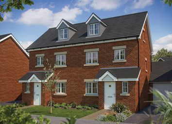 "Thumbnail 3 bedroom town house for sale in ""The Tetbury"" at Chard Road, Axminster"