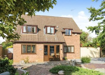 Thumbnail 4 bed detached house for sale in Holme Close, Ailsworth, Peterborough
