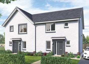 "Thumbnail 3 bedroom semi-detached house for sale in ""The Hamilton"" at Brora Crescent, Hamilton"