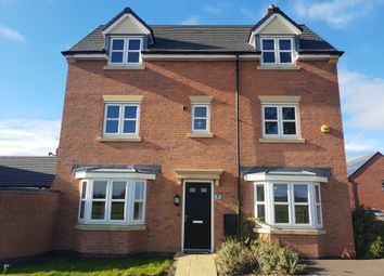 Thumbnail 4 bed detached house to rent in Arlington Close, Thurmaston, Leicester